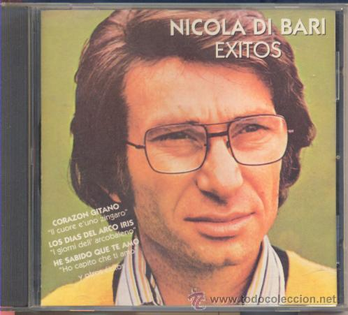CD CD CD NICOLA DI BARI EN ESPAÑOL - CD MUY RARO (Música - Discos - Singles Vinilo - Canción Francesa e Italiana)