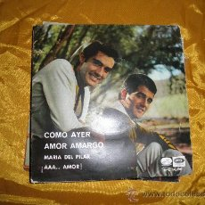 Discos de vinilo: EL DUO DINAMICO. COMO AYER + 3 . EP. LA VOZ DE SU AMO 1966. Lote 35675518