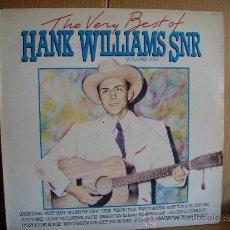 Discos de vinilo: HANK WILLIAMS SNR. --- THE VERY BEST. Lote 35675674