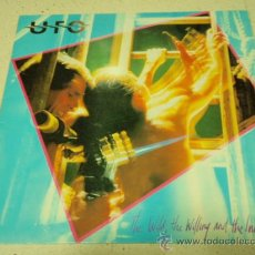 Discos de vinilo: UFO ( THE WILD, THE WILLING AND THE INNOCENT ) 1981-SWEDEN LP33 CHRYSALIS RECORDS. Lote 35676256