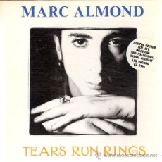 Discos de vinilo: MARC ALMOND - TEARS RUN RINGS / EVERYTHING I WANTED (45 RPM) BOX SET EDITION! EX/EX+. Lote 113719132