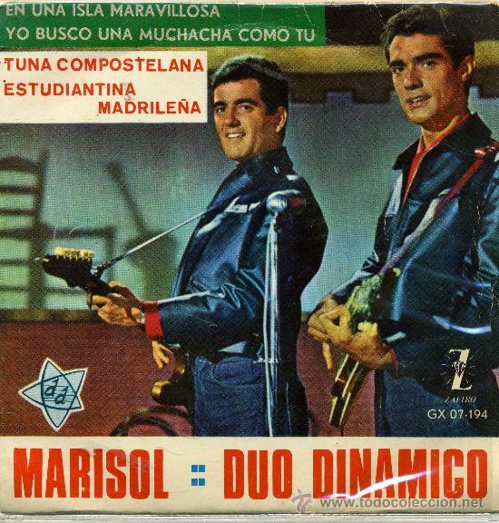 MARISOL Y DUO DINAMICO (Música - Discos - Singles Vinilo - Solistas Españoles de los 50 y 60)