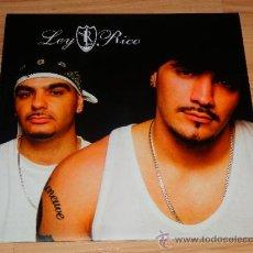 Discos de vinilo: LEY RICO DOBLE LP VINILO HIP HOP ESPAÑOL NUEVO ZONA BRUTA DOBLE O NADA DRO ZB. Lote 169222194