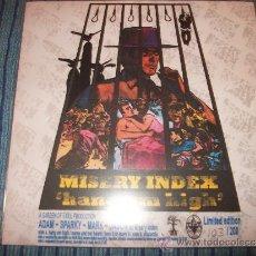 Discos de vinilo: EP MISERY INDEX - HANG EM HIGH - LIMITED EDITION 102/200 - VINILO VERDE - DYING FETUS - BRUTAL DEATH. Lote 35702874