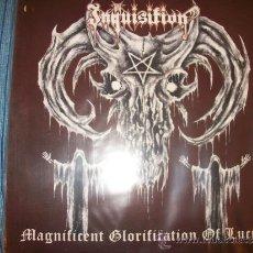 Discos de vinilo: LP INQUISITION - MAGNIFICENT GLORIFICATION OF LUCIFER - BLACK METAL. Lote 35702954