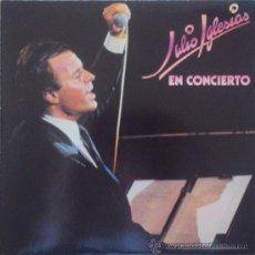 Discos de vinilo: JULIO IGLESIAS: EN CONCIERTO. LP DOBLE CBS 1983. SIN ESCUCHAR. Lote 35710908