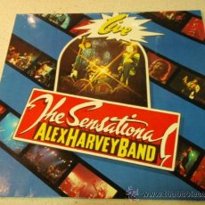 Discos de vinilo: ALEX HARVEY BAND ( THE SENSATIONAL ALEX HARVEY BAND 'LIVE' ) UK 1975-GERMANY LP33 VERTIGO. Lote 35722518