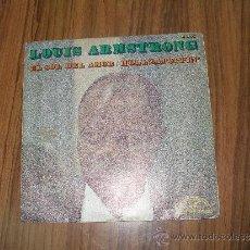 Discos de vinilo: LOUIS ARMSTRONG - EL SOL DEL AMOR. Lote 35726950