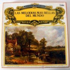 Discos de vinilo: LAS MELODIAS MAS BELLAS DEL MUNDO * ESTUCHE CON 8 LP DE 1976 READER'S DIGEST * . Lote 35732821