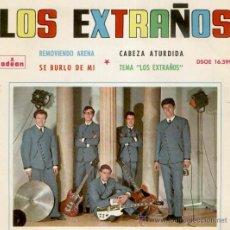Discos de vinilo: LOS EXTRAÑOS - SE BURLO DE MI - REMOVIENDO ARENA + 2 - EP SPAIN 1964 VG+/ VG++. Lote 35737182