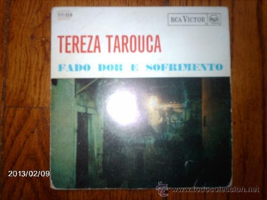 TEREZA TAROUCA - FADO DOR E SOFRIMENTO (Música - Discos de Vinilo - EPs - Étnicas y Músicas del Mundo)