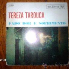Discos de vinilo: TEREZA TAROUCA - FADO DOR E SOFRIMENTO . Lote 35768415