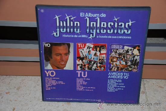 Discos de vinilo: DOBLE DISCO VINILO LP JULIO IGLESIAS - Foto 2 - 35837939