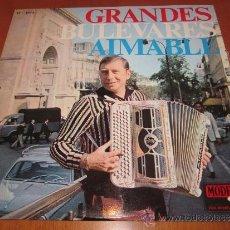 AIMABLE LP GRANDES BULEVARES MODE ESPAÑA 1967