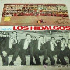 Discos de vinilo: CONJUNTO LOS HIDALGOS CANTA RONY BRAY (LA LUNA Y EL TORO - AUN RECUERDO - FLAMENCO - VISITANTES ). Lote 35766234