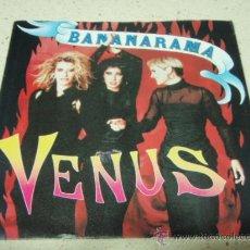 Discos de vinilo: BANANARAMA – VENUS / WHITE TRAIN UK,1986 LONDON RECORDS. Lote 35768192