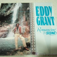 Discos de vinilo: EDDY GRANT ( ROMANCING THE STONE - MY TRN TO LOVE YOU ) 1984-HOLANDA SINGLE45 ICE. Lote 35769567