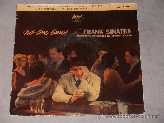 FRANK SINATRA - NO ONE CARES - CAPITOL - EP. (Música - Discos de Vinilo - EPs - Jazz, Jazz-Rock, Blues y R&B)