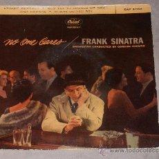 Discos de vinilo: FRANK SINATRA - NO ONE CARES - CAPITOL - EP.. Lote 35770091