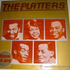 Discos de vinilo: THE PLATTERS - DISCO DE ORO. Lote 35770644