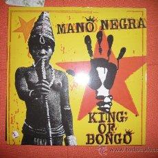 Discos de vinilo: MANO NEGRA-KING OF BONGO. Lote 35770792