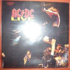 Discos de vinilo: AC DC-LIVE. Lote 35771035