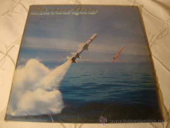 DISCO LP EPS ORIGINAL STATUS QUO JUST SUPPOSIN (Música - Discos de Vinilo - EPs - Pop - Rock - New Wave Extranjero de los 80)