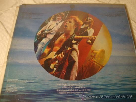 Discos de vinilo: DISCO LP EPs ORIGINAL STATUS QUO JUST SUPPOSIN - Foto 2 - 35776519