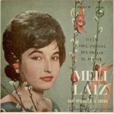 Discos de vinilo: MELI LAIZ - DILE - TEN PIEDAD - OHA INDIANA - EP SPAIN 1961 EX / VG+ . Lote 88118496