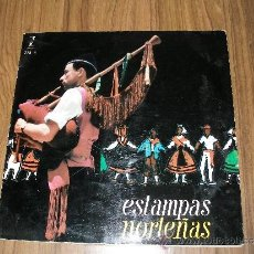 Discos de vinilo: ESTAMPAS NORTEÑAS - LOS XEY - IRUÑA KO - DESDE SANTURCE A BILBAO . Lote 35779165