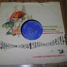 Discos de vinilo: SELECCIONES MUSICALES HISPANOAMERICANAS - LOS MEJORES PASODOBLES DE ESPAÑA. Lote 35780538