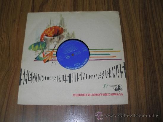 SELECCIONES MUSICALES HISPANOAMERICANAS - EXITOS DE COMPOSITORES CELEBRES (Música - Discos - LP Vinilo - Grupos y Solistas de latinoamérica)