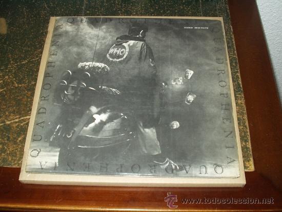 WHO LP DOBLE+ LIBRETO QUADROPHENIA FIRST PRESS CENSURED . VERY RARE (Música - Discos - LP Vinilo - Pop - Rock Extranjero de los 50 y 60)