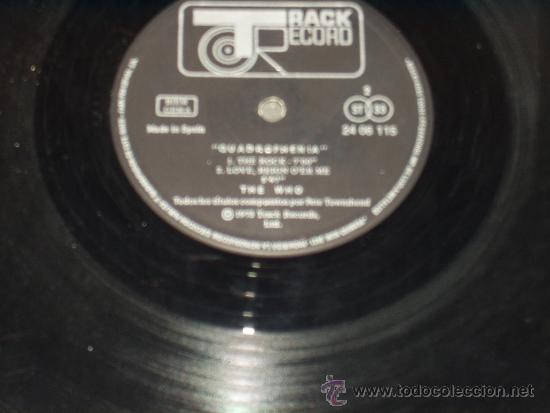 Discos de vinilo: WHO LP DOBLE+ LIBRETO QUADROPHENIA FIRST PRESS CENSURED . VERY RARE - Foto 4 - 35787142