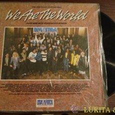 Discos de vinilo: WE ARE THE WORLD. Lote 35800503