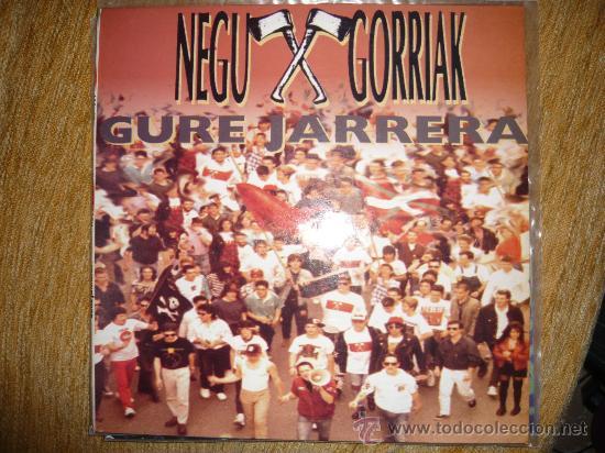 NEGU GORRIAK-GURE JARRERA (Música - Discos - LP Vinilo - Punk - Hard Core)