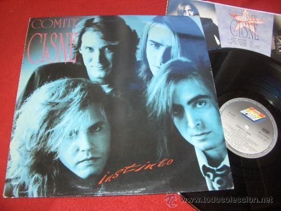 COMITE CISNE INSTINTO LP 1991 BMG ARIOLA MOVIDA POP (Música - Discos - LP Vinilo - Grupos Españoles de los 70 y 80)