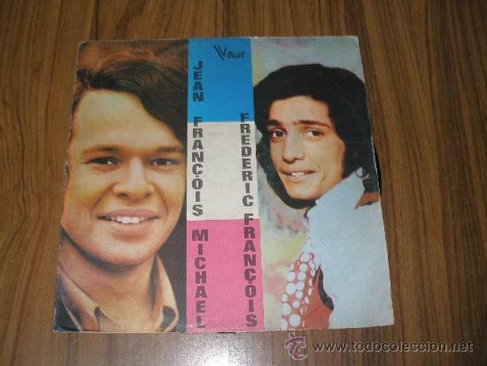 JEAN FRANCOIS MICHAEL & FREDERIC FRANCOIS. MUY RARO (Música - Discos - LP Vinilo - Canción Francesa e Italiana)