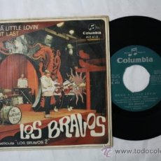 Discos de vinilo: SINGLE LOS BRAVOS - BRING A LITTLE LOVING/ MAKE IT LAST - COLUMBIA DEPOSITO 1967. Lote 35793959
