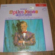 Discos de vinilo: THE BEST OF SPIKE JONES AND HIS CITY SLICKERS. RARO FABRICADO EN USA. AÑO 1967. Lote 35794672