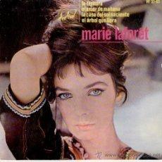 Discos de vinilo: MARIE LAFORET - LA CASA DEL SOL NACIENTE - LA TERNURA + 2 EP SPAIN 1964. Lote 35796079