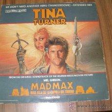 Discos de vinilo: TINA TURNER - MAD MAX MAS ALLA DE LA CUPULA DEL TRUENO. Lote 35796505