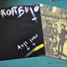 Discos de vinilo: ESKORBUTO - ANTI TODO - ORIGINAL 1985 MINT CONDITION !!!. Lote 35796723