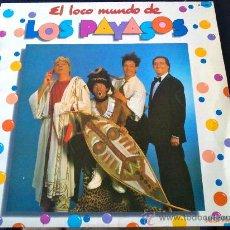 Discos de vinilo: EL LOCO MUNDO DE LOS PAYASOS (LOS PAYASOS DE LA TELE) - LP DE VINILO. Lote 61257579
