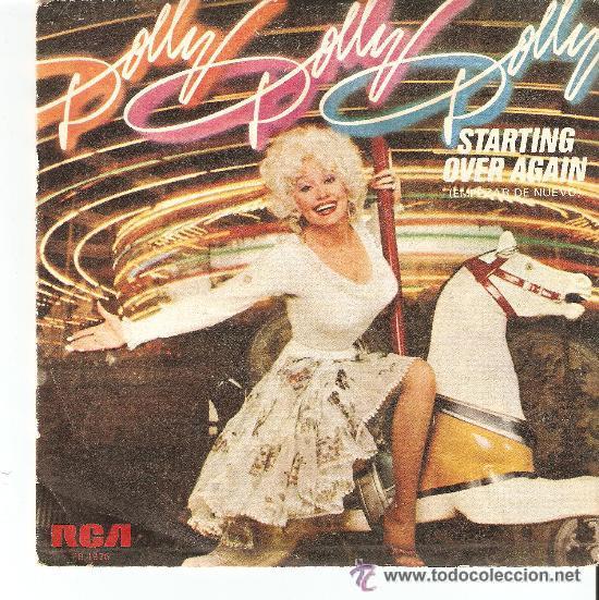 DOLLY PARTON - STARTING OVER AGAIN (Música - Discos - Singles Vinilo - Country y Folk)