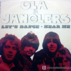 Discos de vinilo: OLA & JANGLERS - LET S DANCE . HEARME. Lote 35800635