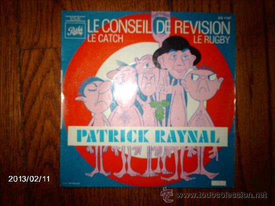 PATRICK RAYNAL (COMICO FRANCES) - LE CONSEIL DE REVISION +2 (Música - Discos de Vinilo - EPs - Otros estilos)