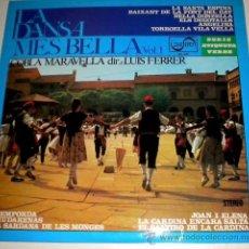 Discos de vinilo: LA DANSA MES BELLA VOL 1 - COBLA MARAVELLA. Lote 35805434