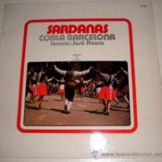 Discos de vinilo: SARDANAS - COBLA BARCELONA. Lote 35805447