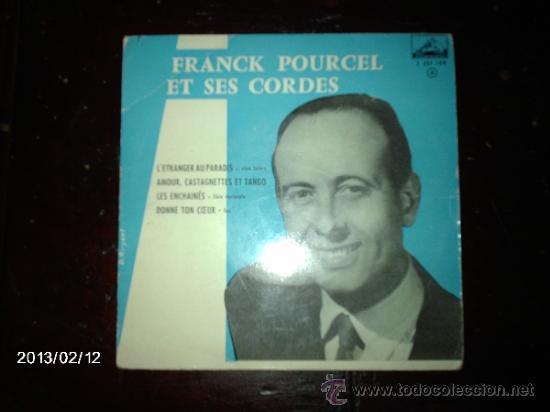 FRANCK POURCEL ET SES CORDES - L´ETRANGER AU PARADIS +3 (Música - Discos de Vinilo - EPs - Orquestas)